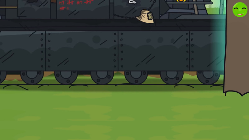 Invasion of the KV-44 - Cartoons about tanks