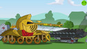 The secret of the royal dungeon - Cartoons about tanks