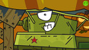 WHO IS SCARY - Cartoons about tanks